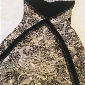 BCBGMAXAZRIA COCKTAIL STRAPLESS dress size2